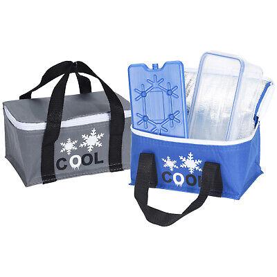Kühltasche 2,6L mit Kühlakku und Lunchbox Isoliertasche Kühlbox Isotasche 236993