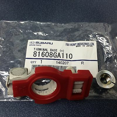 Subaru (+) Battery Cable Terminal Forester Legacy Impreza Outback STI WRX OEM !!