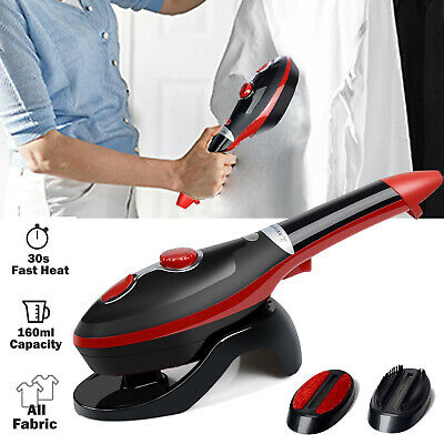 Portable Steamer Fabric Clothes Garment Steam Iron Handheld Compact Fast Heat-up