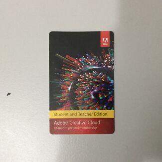 Adobe Creative Cloud Education Students & Teachers 12 Months