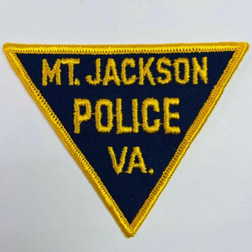 Mt Jackson Police Mount Jackson Shenandoah County Virginia VA Patch (B5)