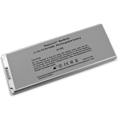 """New Laptop Battery For Apple MacBook 13"""" 13.3 Inch A1181 A1185 MA561 MA566 White"""