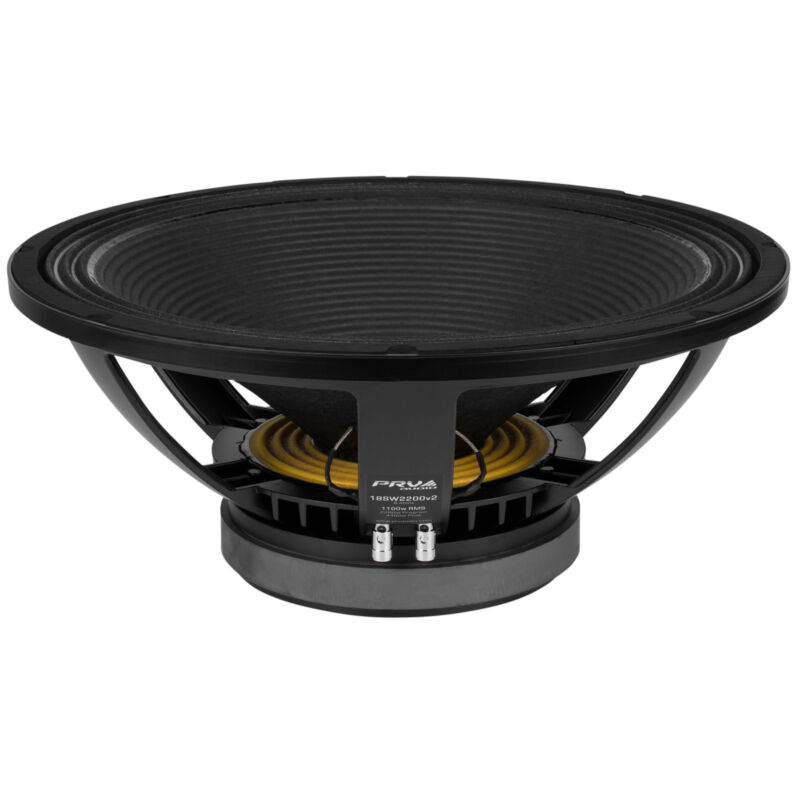 """PRV Audio 18SW2200v2 18"""" Professional Subwoofer 8 Ohm"""