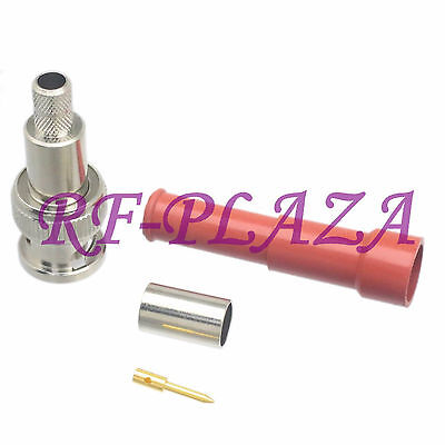 1pce Connector Mhv 3000v Bnc Male High Voltage Solder Rg59 Rg58 Rg223400 Cable