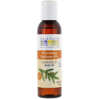 Aura Cacia Aromatherapy Body Oil Soothing Heat - 4 Fl Oz