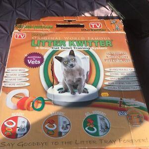Kit pour apprendre à votre chat à aller à la toilette