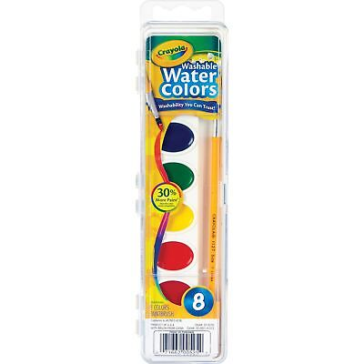 Crayola Washable Watercolor Paint 8 Assorted Colors - Crayola Watercolor