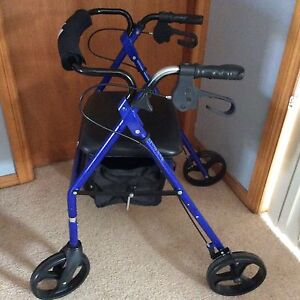 Disability 4 wheeler walker elderly with basket suit new buyer 3 mths Edgeworth Lake Macquarie Area Preview