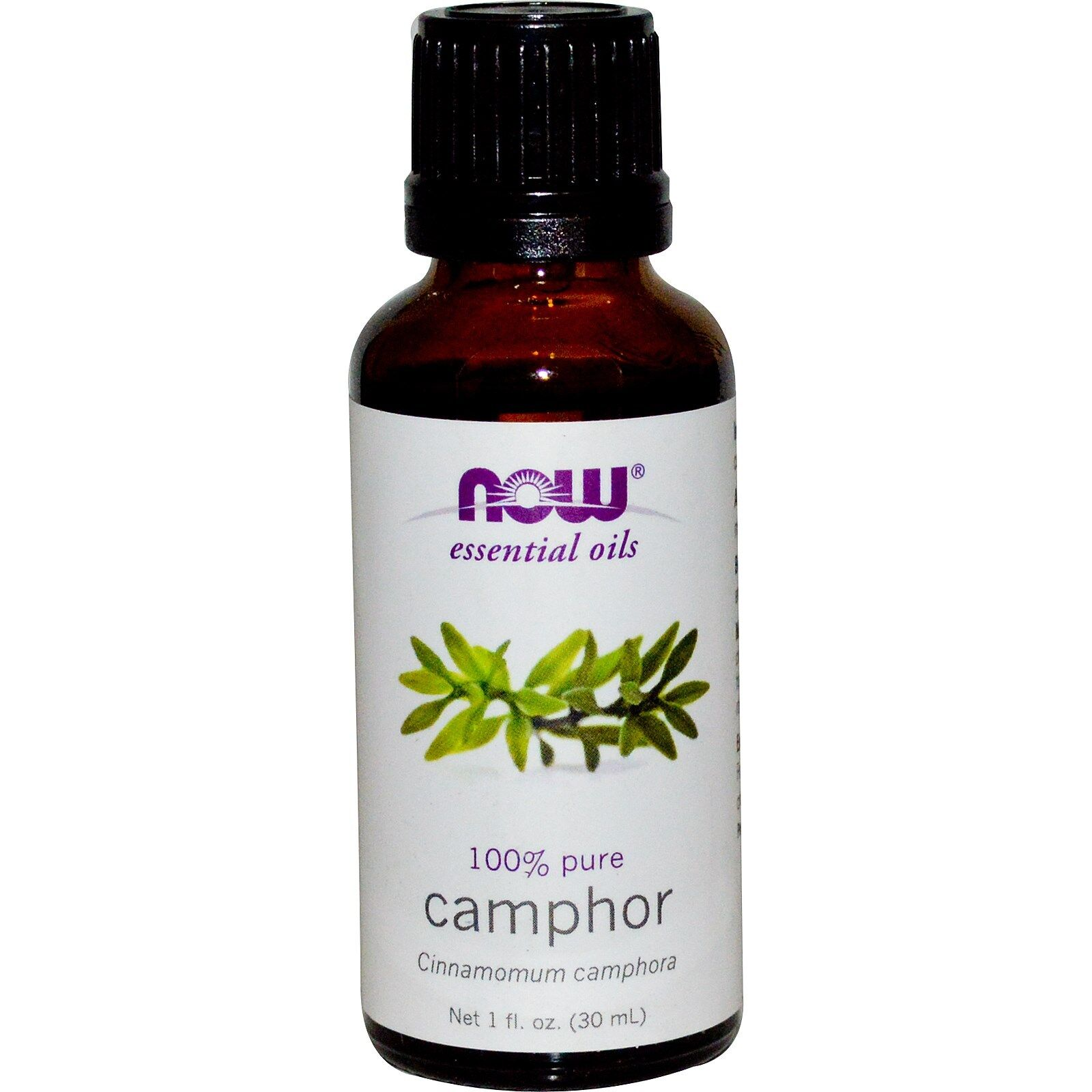 NOW Foods 1 oz Essential Oils and Blend Oils - FREE SHIPPING! Camphor