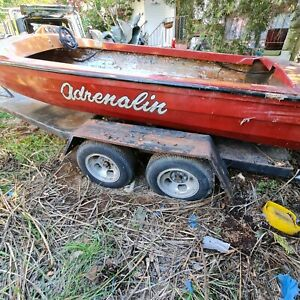 PRICE REDUCTION - Trailer and 16 foot ski boat