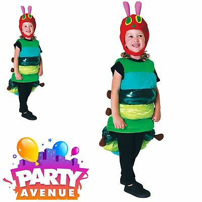 The Very Hungry Caterpillar Deluxe Girls Boys Book Week Fancy Dress Costume - The Hungry Caterpillar Costume