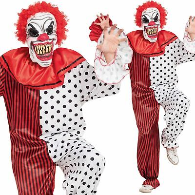 Herren Scary Horror Clown Killer Zirkus Hofnarr Halloween - Scary Clown Overall