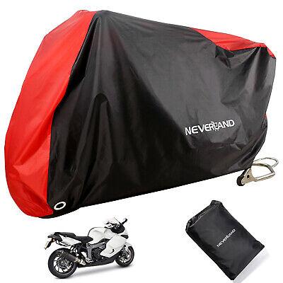 NEVERLAND Red Waterproof Motorcycle Cover For Suzuki GSXR600 GSXR750 GSXR1000