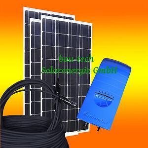 390Wp Solaranlage 230V Photovoltaikanlage Komplettpaket zur Hausnetzeinspeisung