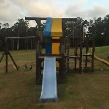 Pepper town kids skyfort playground equipment Chandler Brisbane South East Preview