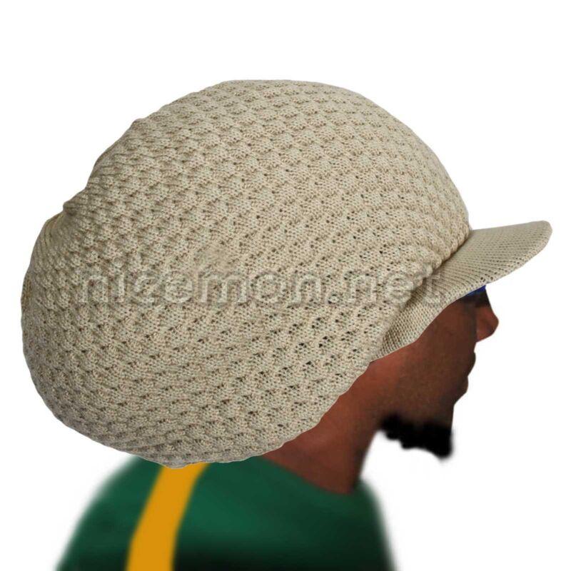 Rasta Natty Dread Dreadlocks Cap Hat Hippie Irie Reggae Marley Jamaica XL to XXL