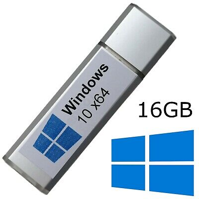 Windows 10 Enterprise 64bit auf 16 GB USB-3.0-Stick Live-Stick BootStick ()