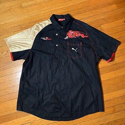 Scuderia Toro Rosso Crew Pit Shirt Puma F1 Racing size XXL Black Red Bull