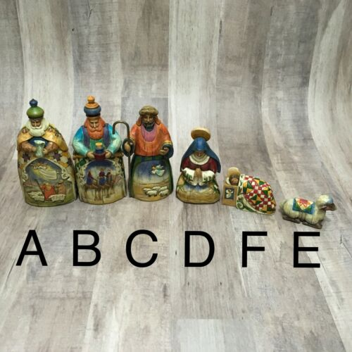 Jim Shore Heartwood Creek 2004 Mini Nativity Replacement Pieces Your Choice