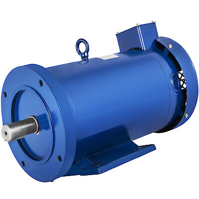 Dc Motor 3hp 145tc 180v 1750rpm Tefc Permanent Magnet