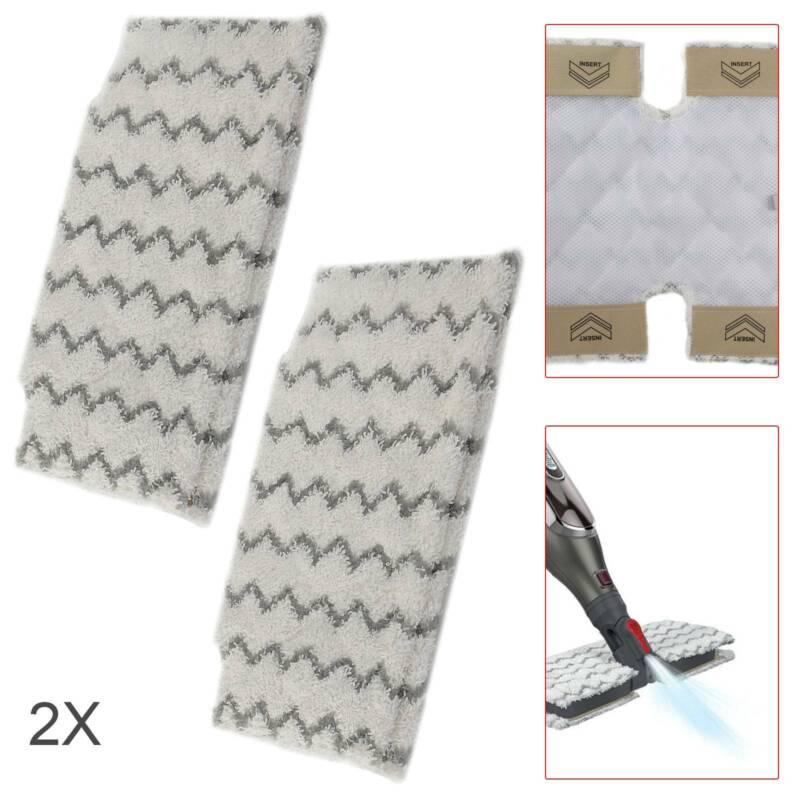 Lot de 4 Coussinets de remplacement Shark Vapeur S6001UK S6003UK Klik n flip poche MOP Pad