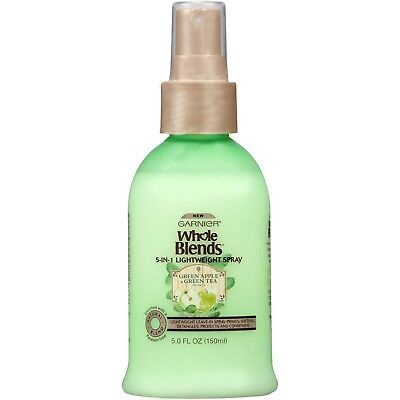 Garnier Whole Blends Refreshing 5-in-1 Light Detangler Spray All Types of Hair - Light Detangler Spray