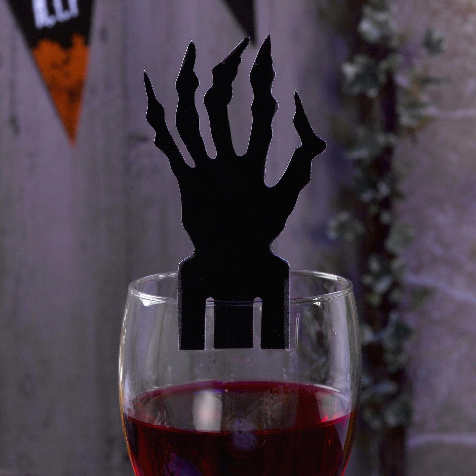 Halloween Glass Decorations