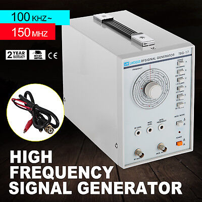 High Frequency Signal Generator Rf 100khz-150mhz Af Sine Wave 100mvrms Excellent
