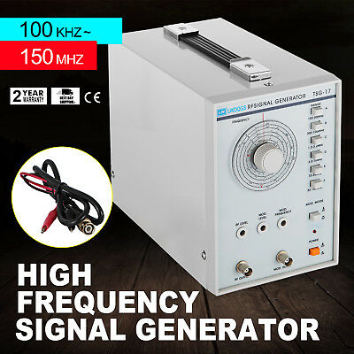 High Frequency Signal Generator Rf 100khz-150mhz Af Sine Wave 100mvrms Excellent