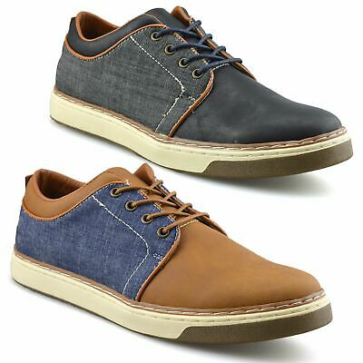 Mens New Casual Smart Boat Deck Mocassin Walking Driving Work Lace Up Shoes Size