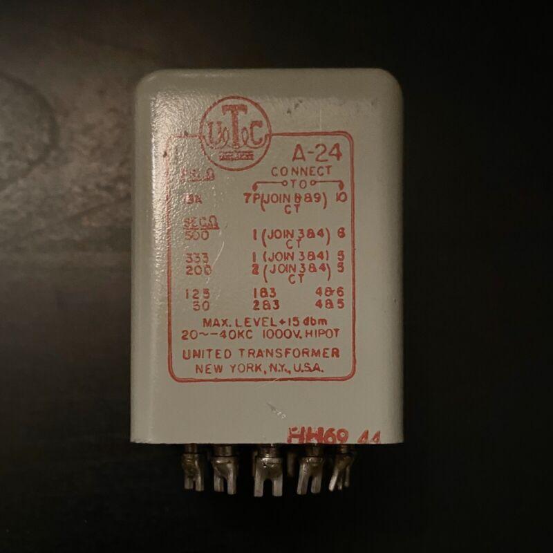 UTC A-24 Output Transformer