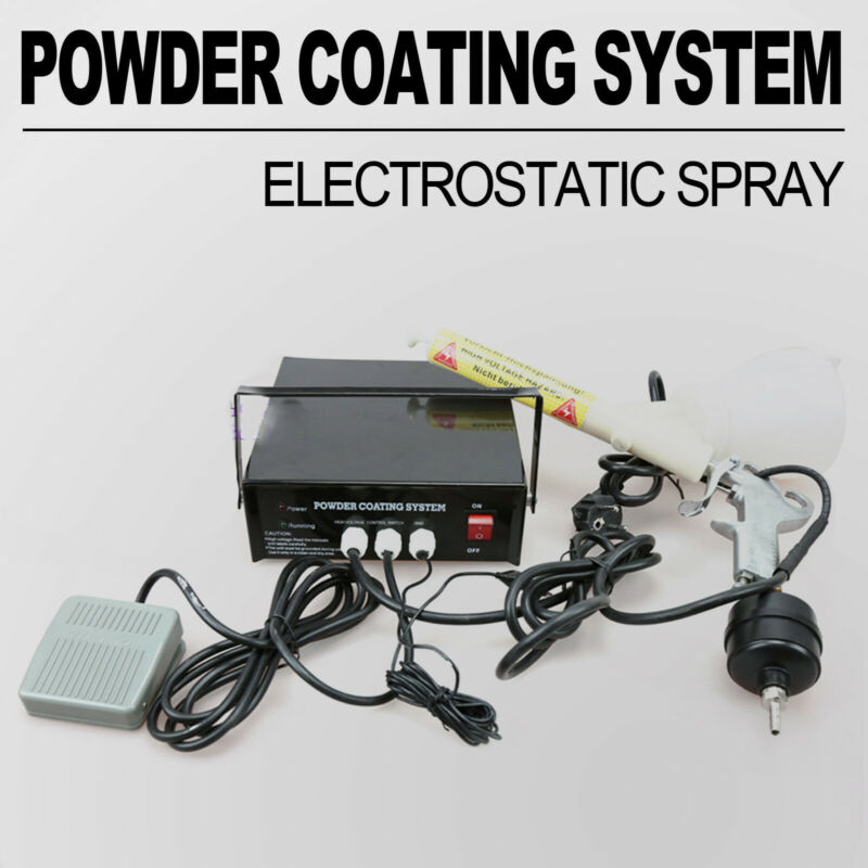 2019 Original Portable Powder Coating System Paint spray Gun PC03 Air Paint Gun