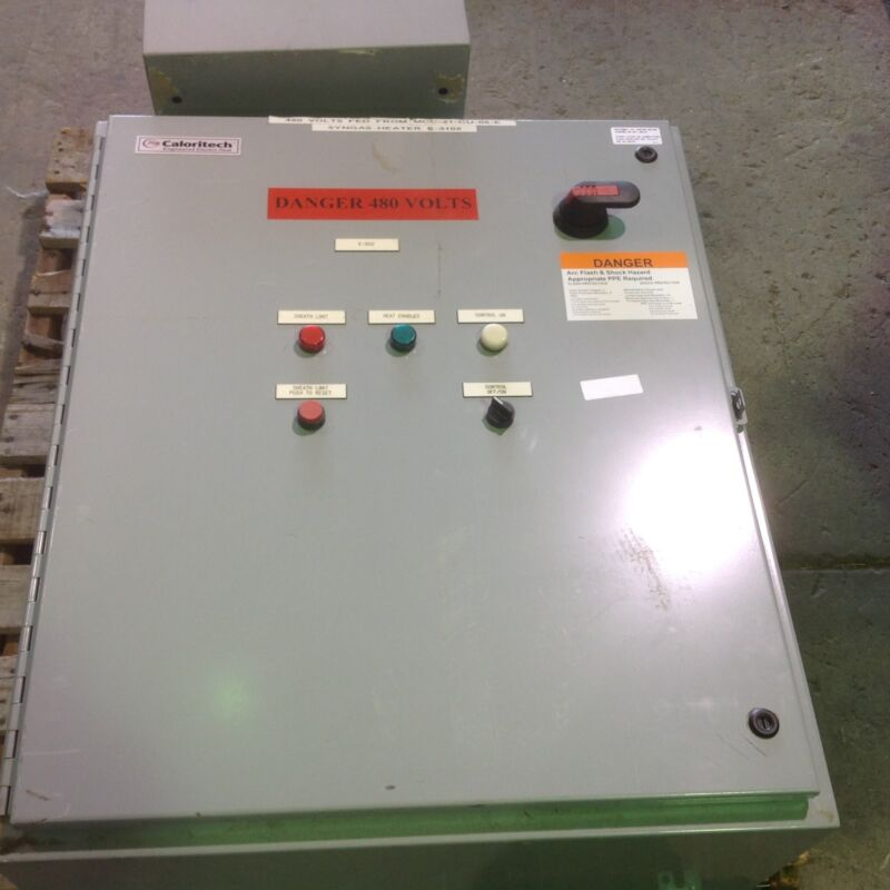 ISE MODEL ZF2-480-70-FK-C SOLID STATE RELAY CONTROL CABINET