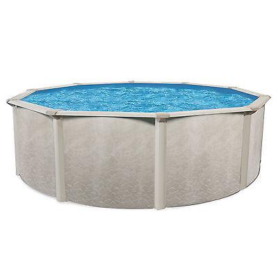 """Cornelius Pools Phoenix 18' x 52"""" Round Steel Frame Above Ground Pool w/o Liner"""