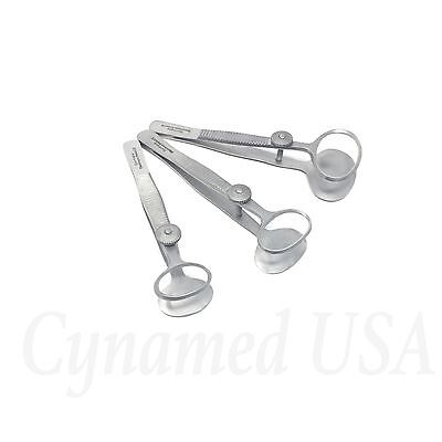 3 Desmarres Chalazion Forceps 3.5 Sml Surgical Ophthalmic Instrument German