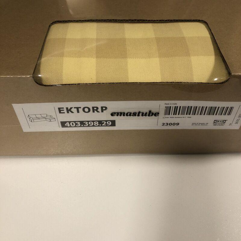IKEA Ektorp Bezug für 3-er Sofa mit Recamiere Skaftarp gelb 403.398.29 NEU OVP