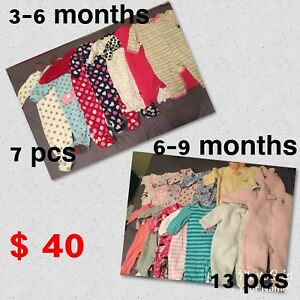 3-9 months clothing