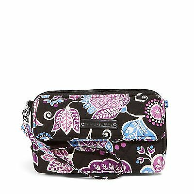 Vera Bradley All In One Crossbody Bag   Wristlet For Iphone 6  In Alpine Floral