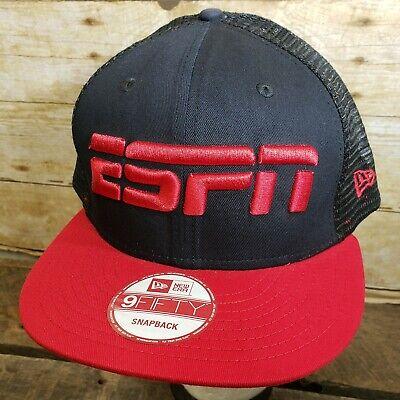 - ESPN Snapback Trucker Hat Ball Cap - New Era 9Fifty - NEW