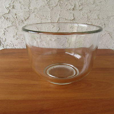 """Oster Kitchen Center Small Glass Mixing Bowl 5500 6.5"""" diameter"""
