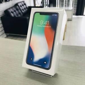 NEW IPHONE X 256GB SLIVER IN BOX AU MODEL UNLOCKED WARRANTY