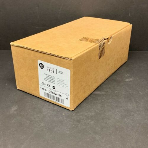 New Allen Bradley 1761-L20AWA-5A A B 1.0 MicroLogix 1000 Controller Analog Oldr
