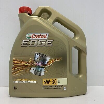 Castrol EDGE Titanium 5W-30 LL Full Synthetic Engine Oil 5 Litres  comprar usado  Enviando para Brazil