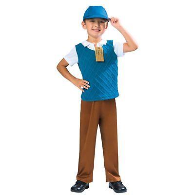 Evacuee Boy Historical WW2 World War Boys Kids Childs Fancy Dress Costume