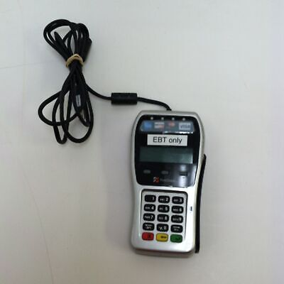 First Data Fd-35 Ebt With Usb Power Cord Pin Pad Chip Insert