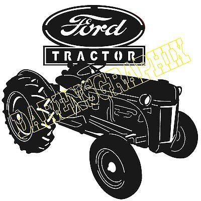 Ford Tractor Dxf Cnc Files Plasma Laser Clipart Plasmacam
