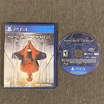 The Amazing Spider-Man 2 (Sony PlayStation 4, 2014) PS4