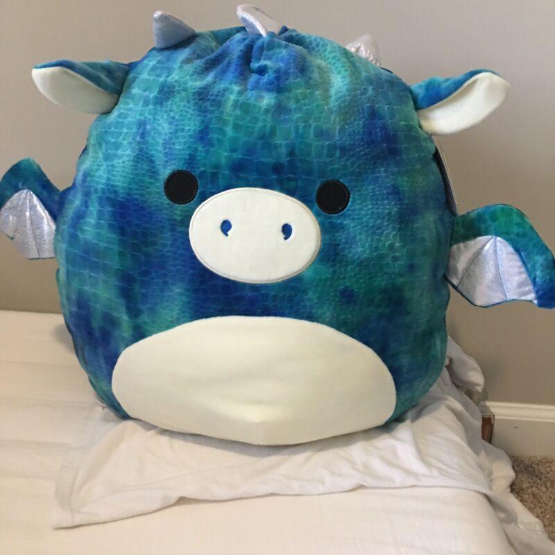 Squishmallow 16in, XL Dominic The Dragon, Super soft Plush pillow