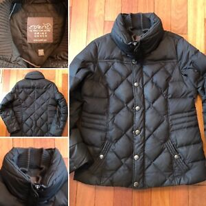 Winter jacket down filled Esprit size 12. Mint condition