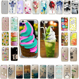Funda-Carcasa-Pattern-Soft-TPU-Silicone-Case-Cover-For-iPhone-5-6-6s-7-PLUS-SE